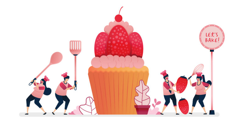 Deliciously Simple Strawberry Cupcakes